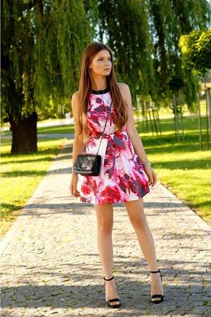 bubble gum OASAP dress