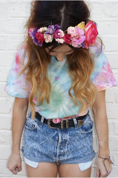 Cute Tie Dye Shirts Tumblr Tie Dye Zukobaby t Shirt