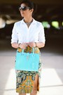 Ann-taylor-shirt-ysl-bag-kate-spade-sunglasses-anthropologie-skirt