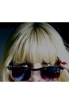 blue Riachuello jacket - black vintage sunglasses