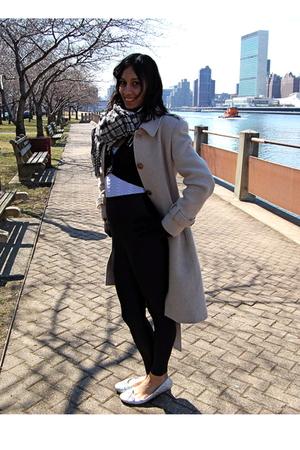 banana republic scarf - 10 Spot top - Charlotte Russe sweater - American Apparel