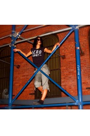 Aeropostale shirt - Mandee pants - Converse shoes