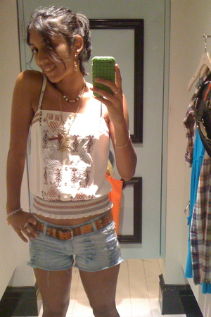 forever 21 top - Topshop accessories