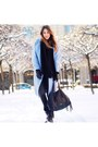 Black-leather-minelli-boots-sky-blue-wool-maje-coat-black-knit-zara-sweater