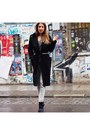Black-zara-boots-black-wool-vintage-coat