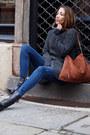 Black-hugo-boss-boots-blue-zara-jeans-dark-gray-gsus-sweater