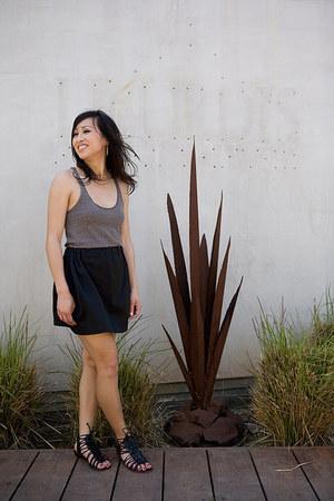 Dolce Vita sandals - handmade skirt issa skirt - aa top