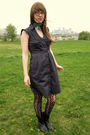 Gray-anthropologie-dress-black-thrifted-boots-black-target-tights-blue-gif