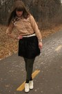 White-thrifted-shoes-black-forever-21-skirt-white-thrifted-belt-green-hue-