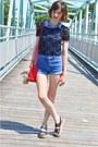 Black-charlotte-russe-shirt-red-side-bag-bag
