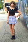Black-ankle-boots-h-m-boots-h-m-skirt-light-blue-forever-21-necklace