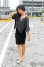 Charcoal-gray-glamour-top-black-forever-21-skirt-neutral-wilson-accessories