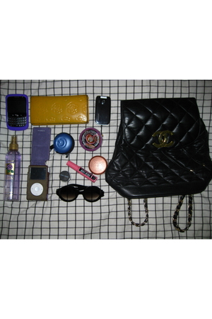 Chanel accessories - Chanel wallet - Caselogic accessories - Forever21 sunglasse