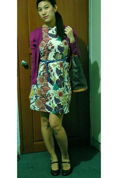 Floral Bucket Bag Floral Print Dress Bucket