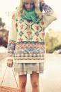 Burnt-orange-granny-ankle-etsy-boots-tan-lace-chiffon-pins-needles-dress