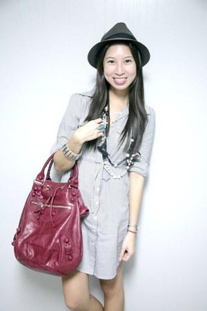 balenciaga bag - H&M dress - Forever 21 accessories