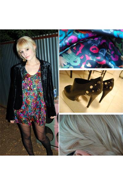 blazer - dress - shoes