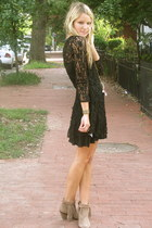 El Quetzal dress - sam edelman boots - free people necklace