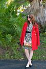 Leopard-print-banana-republic-dress-red-tulle-coat-vintage-bag