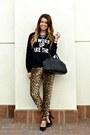 Graphic-sheinsidecom-sweatshirt-leopard-print-forever-21-pants