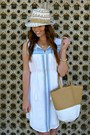 Embroidered-tjmaxx-dress-fedora-target-hat-tote-target-bag