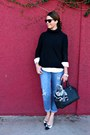 Boyfriend-jeans-jessica-simpson-jeans-turtleneck-ann-taylor-sweater