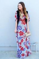 printed asos dress