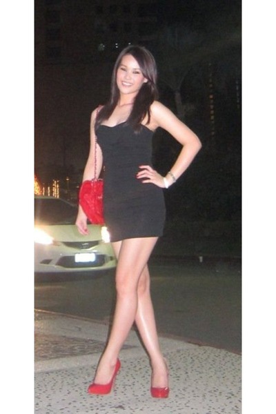 Black Dress Red Heels,
