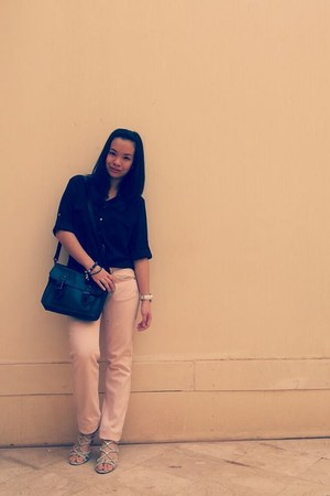 BCBG shoes - Bershka pants - H&M blouse