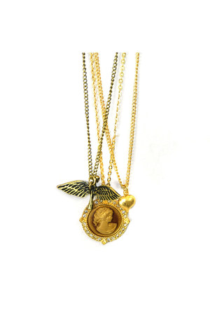 gold gold AbsoluteAccessorycom necklace