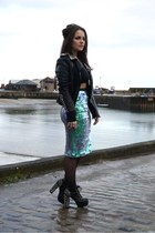 Missguided skirt - Daisy Street jacket