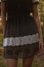 Black-polka-dot-print-mina-uk-dress-black-pony-hair-litas-jeffrey-campbell-hee