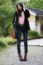 Navy-high-waisted-cheap-monday-jeans-black-faux-fur-h-m-jacket-dark-brown-le