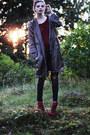 Gray-parka-sofifi-jacket-black-hudson-jeans-jeans