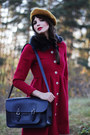 Ruby-red-faux-fur-collar-ida-sjstedt-coat-black-leather-urban-outfitters-boots