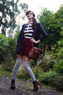 Dark-brown-litas-jeffrey-campbell-heels-navy-monki-blazer