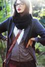 Black-army-vagabond-boots-dark-gray-forever-21-blazer