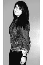 Zara leggings - Levis jacket - Zara shirt