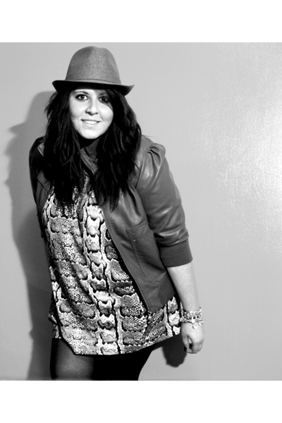H&M jacket - H&M hat - H&M dress