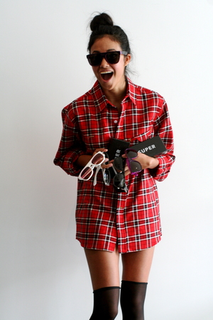 Staple Design shirt - Super sunglasses - Super sunglasses - Super sunglasses