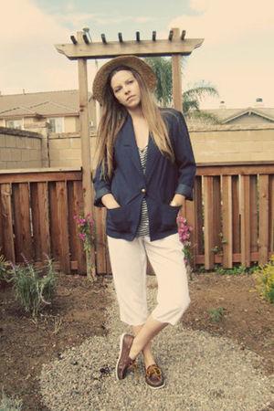 blue vintage blazer