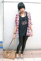 t-shirt - shirt - leggings - shoes - accessories