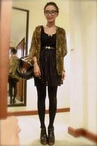 leather shoes June  Julia heels - leather bag Topshop bag