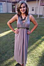 grecian Forever 21 dress