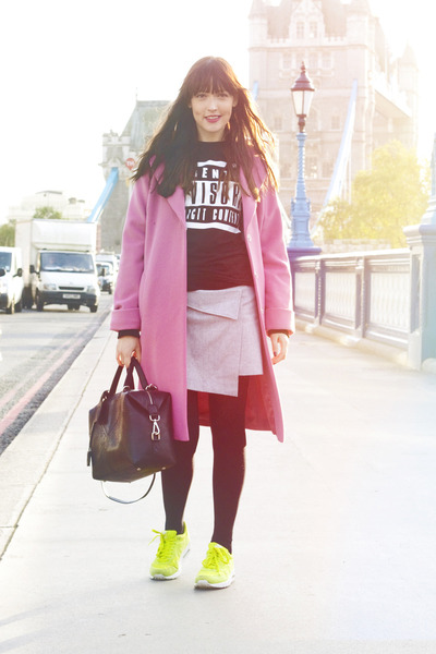 Marks And Spencer Coats   &quotThe Pink Coat&quot by adashoffash   Chictopia