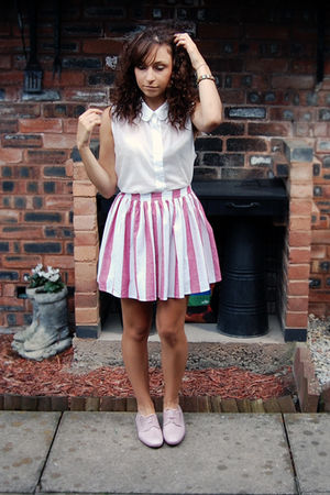 Schuh shoes - American Apparel shirt - American Apparel skirt