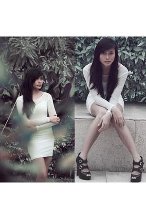 white Aveadena dress