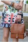 Sheinside-dress-thrifted-coach-bag-karen-walker-sunglasses