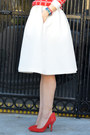 H-m-skirt-forever-21-sweater-karen-walker-sunglasses-gap-heels