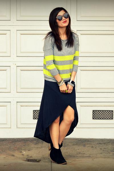 Gap sweater - asos boots - Zara dress